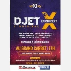 DJET X au Grand Carbet