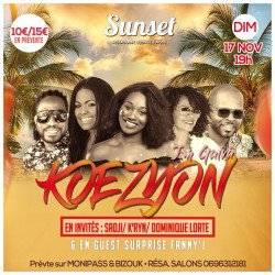 KOEZYON SHOW au Sunset