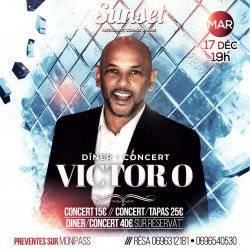 Victor O en DinerConcert au Sunset