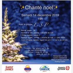 Chanté Noël Avec Le Groupe Csp Chanténwel