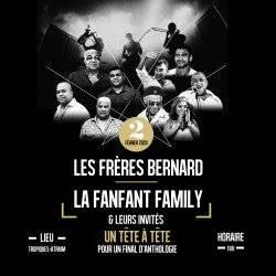 Les Frères Bernard reçoivent la Fanfant Family