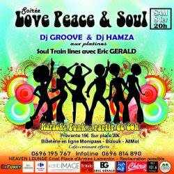 SOIRÉE LOVE PEACE & SOUL PAR BEFUNKY