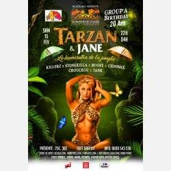 TARZAN & JANE GROUP'A 20 ans BIRTHDAY