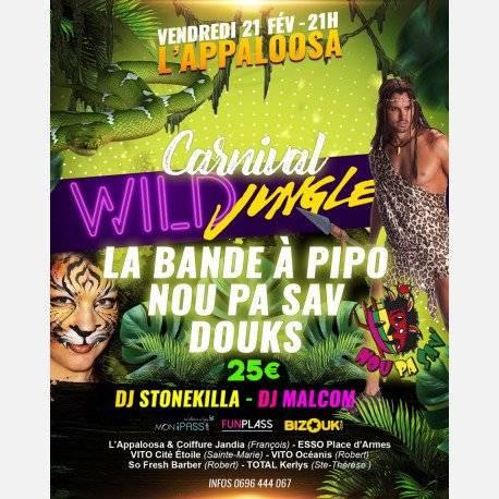 Carnival Wild Jungle ANNULE