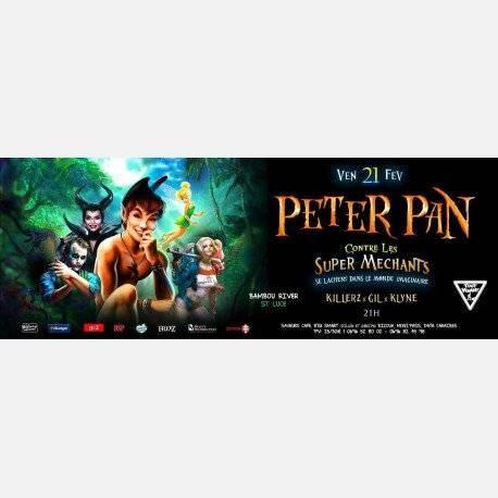 PETER PAN contre LES SUPER MECHANTS