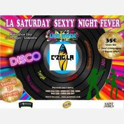 SATURDAY SEXXY NIGHT FEVER