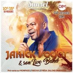 JANICK VOYER en concert au SUNSET