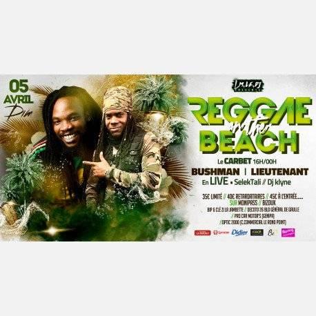 Reggae On The Beach : LIEUTENANT & Busman