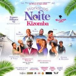 Workshop Noite Kizomba MadaKiz et Viva la Salsa