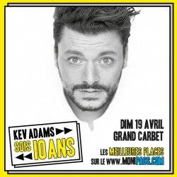 KEV ADAMS au GRAND CARBET