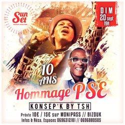 Dim 20 Sept. SUNSET Hommage PSE