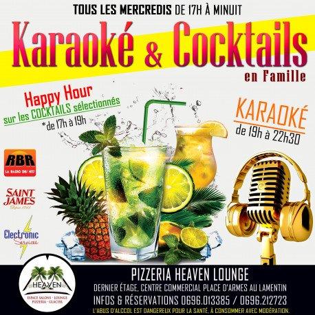 """Les Mercredis """"Karaoké & Cocktails"""" en Famille"""