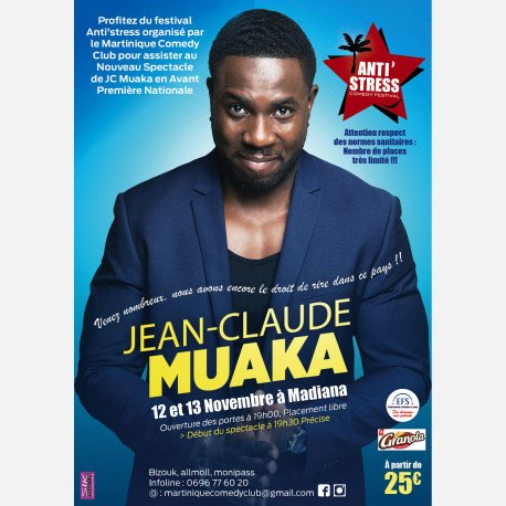 Nouveau Spectacle De Jean Claude Muaka En Avant Première Nationale