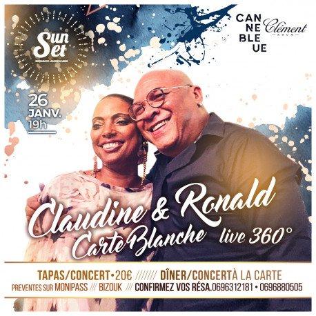 Claudine & Ronald Carte Blanche au Sunset
