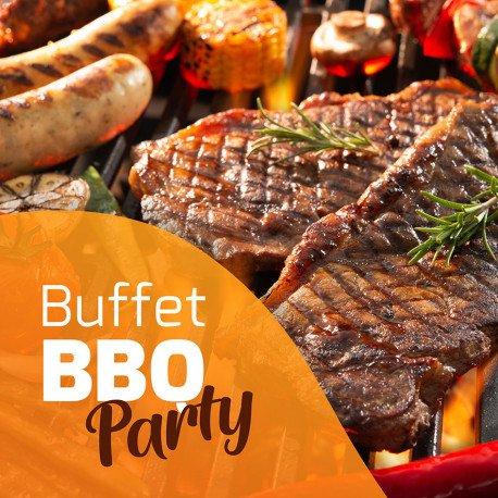 BUFFET BBQ PARTY AU KARIBEA SQUASH HÔTEL